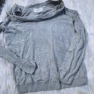 Anthropologie Angel of the North Cowlneck Sweater
